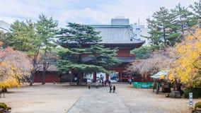 Zojoji Temple in Tokyo Royalty Free Stock Photo