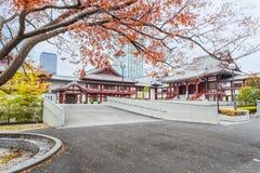 Zojojitempel in Tokyo royalty-vrije stock afbeelding