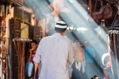 zoko w Marrakech, Maroko zdjęcia stock