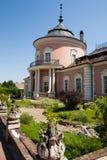 Zolchiv, Ukraine - 23 juillet 2009 : Beau château de palais et jardin d'agrément dans la région de Lviv en Europe Château de Zolo Photographie stock libre de droits