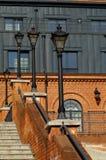 Zolder Aparts in Lodz, Polen Royalty-vrije Stock Foto's