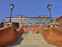 Zolder Aparts in Lodz, Polen Royalty-vrije Stock Afbeeldingen