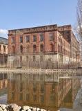 Zolder Aparts in Lodz, Polen Stock Foto's
