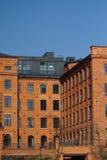 Zolder Aparts in Lodz, Polen Stock Afbeeldingen