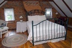 Zolder slaapkamer Stock Afbeeldingen
