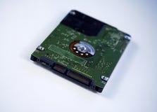 2,5-Zoll-Laptop sata Festplattenlaufwerk lokalisiert auf weißem Hintergrundesprit Stockbild