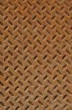 Zolla arrugginita del diamante Fotografia Stock