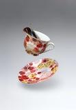 Zolla colorata e tazza di caffè Immagine Stock