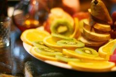 Zolla con frutta Fotografie Stock Libere da Diritti