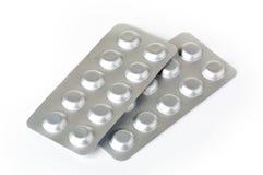 Zolla con le pillole Immagini Stock Libere da Diritti