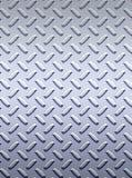 Zolla d'acciaio del diamante del metallo Fotografie Stock