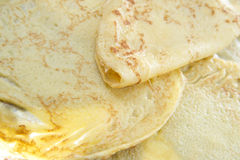 Zolla dei pancake Immagine Stock Libera da Diritti
