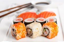 Zolla dei sushi Fotografia Stock