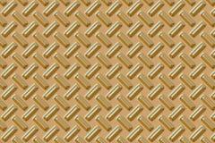 Zolla del diamante - oro Fotografie Stock Libere da Diritti