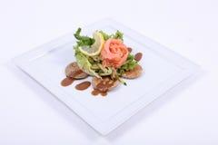 Zolla del pasto pranzante fine Immagine Stock Libera da Diritti