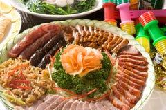 Zolla del Siu arrostita col barbecue Cantonese Mei Immagini Stock