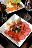 Zolla delle specialità gastronomiche della carne Immagini Stock Libere da Diritti
