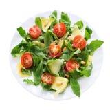 Zolla di insalata di Ruccola Immagine Stock
