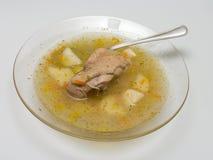 Zolla di minestra. Fotografie Stock