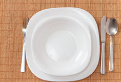 Zolla di pranzo Fotografie Stock