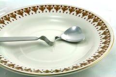 Zolla e cucchiaio Fotografia Stock Libera da Diritti