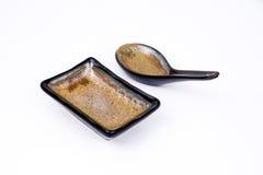 Zolla e cucchiaio fotografie stock