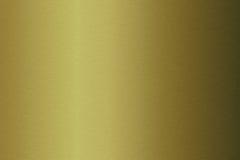 Zolla metallica spazzolata dell'oro Fotografia Stock