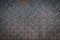 Zolla vecchia del diamante del metallo Fotografia Stock