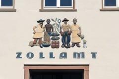 Zollamt (Zollamt) Lizenzfreies Stockbild
