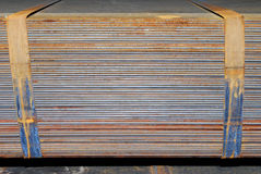 Zolle d'acciaio Fotografia Stock