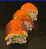 Zolle dei sushi immagine stock