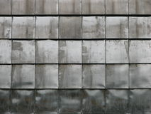 Zolle di metallo della piastrellatura Fotografie Stock Libere da Diritti