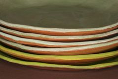 Zolle di pranzo organiche fotografia stock libera da diritti