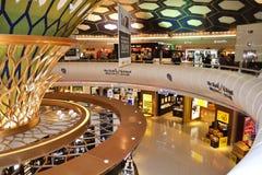 Zollfrei bei Abu Dhabi Stockfoto