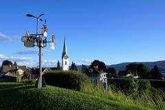 Zollikon del villaggio nello swtizerland Fotografie Stock