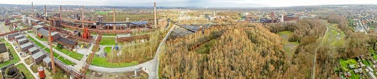 Zollverein煤矿cokery复合体 库存照片