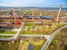 Zollverein煤矿cokery复合体 图库摄影