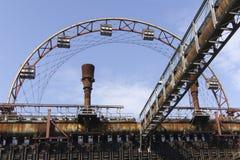 Zollverein Έσσεν Στοκ Φωτογραφία