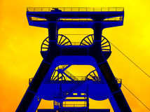 Zollverein Coal Mine Industrial Complex Stock Photos