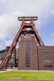 Zollverein Coal Mine Industrial Complex - Essen, Germany. Essen, Germany - April 29, 2006: Mine shaft of Zeche Zollverein and coal building in European Capital Royalty Free Stock Images