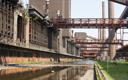 Zollverein Kohlengrube-industrieller Komplex, Essen, GE Lizenzfreies Stockfoto