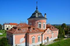 Zolochiv城堡 库存图片