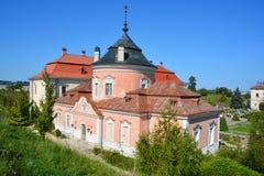 Zolochiv城堡 库存照片