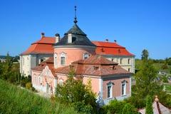 Zolochiv城堡 免版税图库摄影