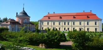 Zolochiv城堡 图库摄影