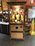Zoltar machine. Zola's machine at a rest stop Royalty Free Stock Photo