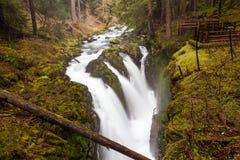 Zolu Duc spadki, Olimpijski park narodowy Obraz Royalty Free
