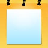 Zombaria acima do cartaz Imagens de Stock
