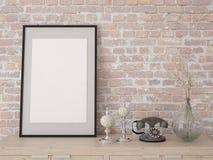 Zombaria acima do cartaz na caixa Fotos de Stock