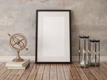 Zombaria acima do quadro da placa do cartaz Imagens de Stock Royalty Free